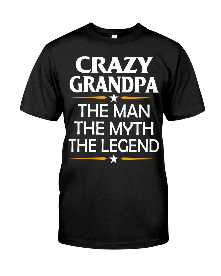 Crazy Grandpa Classic T-Shirt