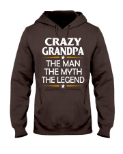 Crazy Grandpa Hooded Sweatshirt thumbnail