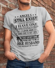 SHE MY IS LIFE - LOVELY GIFT FOR HUSBAND Classic T-Shirt apparel-classic-tshirt-lifestyle-26