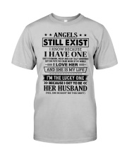 SHE MY IS LIFE - LOVELY GIFT FOR HUSBAND Classic T-Shirt front