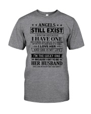 SHE MY IS LIFE - LOVELY GIFT FOR HUSBAND Classic T-Shirt tile