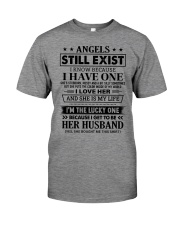 SHE MY IS LIFE - LOVELY GIFT FOR HUSBAND Premium Fit Mens Tee thumbnail