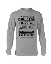 SHE MY IS LIFE - LOVELY GIFT FOR HUSBAND Long Sleeve Tee thumbnail