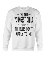 I'm The Youngest Child Crewneck Sweatshirt thumbnail