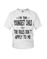 I'm The Youngest Child Youth T-Shirt thumbnail