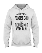 I'm The Youngest Child Hooded Sweatshirt thumbnail