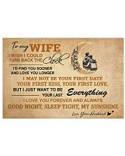 MY SUNSHINE - WONDERFUL GIFT FROM HUSBAND TO WIFE 17x11 Poster thumbnail