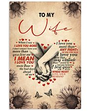 I LOVE YOU - LOVELY GIFT FOR WIFE 11x17 Poster front