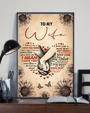 I LOVE YOU - LOVELY GIFT FOR WIFE 11x17 Poster lifestyle-poster-2