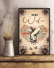 I LOVE YOU - LOVELY GIFT FOR WIFE 11x17 Poster lifestyle-poster-3