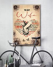 I LOVE YOU - LOVELY GIFT FOR WIFE 11x17 Poster lifestyle-poster-7