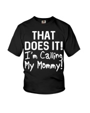 Calling Mommy Youth T-Shirt tile