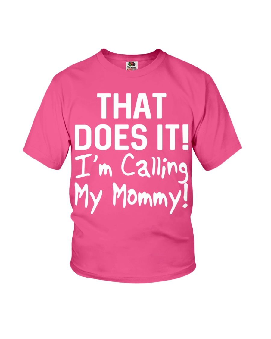 Calling Mommy Youth T-Shirt