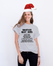 May Classic T-Shirt lifestyle-holiday-crewneck-front-1