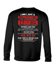 WHO HAPPENED TO BE BORN - BEST GIFT FOR DAUGHTER Crewneck Sweatshirt thumbnail