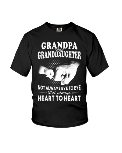 Grandpa And Granddaughter Always Heart To Heart