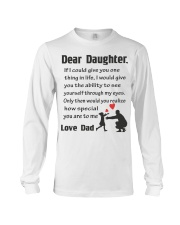 How Special Daughter Is To Me Long Sleeve Tee thumbnail