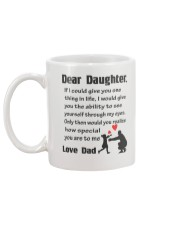 How Special Daughter Is To Me Mug back