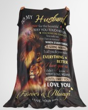 """1 DAY LEFT - GET YOURS NOW Large Fleece Blanket - 60"""" x 80"""" aos-coral-fleece-blanket-60x80-lifestyle-front-10"""