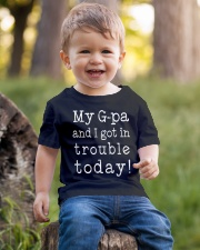 MY G-PA AND I GOT IN TROUBLE TODAY Youth T-Shirt lifestyle-youth-tshirt-front-4