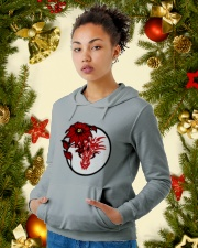 Dragon Orb Hooded Sweatshirt lifestyle-holiday-hoodie-front-4