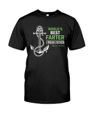 Best dad 1981-World's Best Farter-choose years Premium Fit Mens Tee front