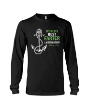 Best dad 1981-World's Best Farter-choose years Long Sleeve Tee thumbnail