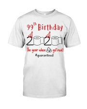 Year 99th Birthday Classic T-Shirt thumbnail