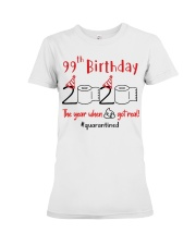 Year 99th Birthday Premium Fit Ladies Tee thumbnail