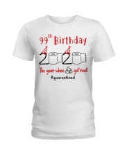 Year 99th Birthday Ladies T-Shirt thumbnail