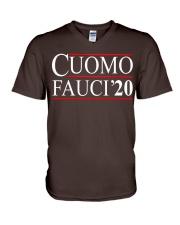 Cuomo Fauci 2020 V-Neck T-Shirt thumbnail