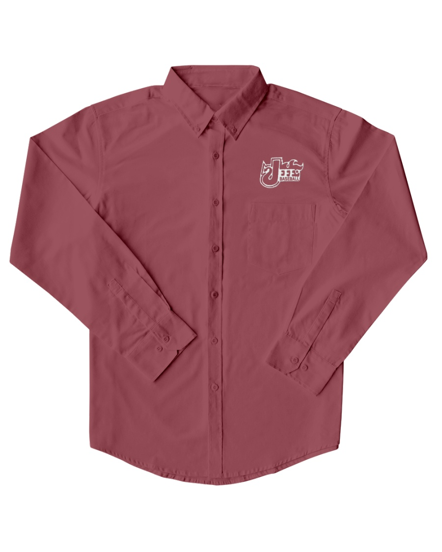 Jeff Baseball shirt  Dress Shirt