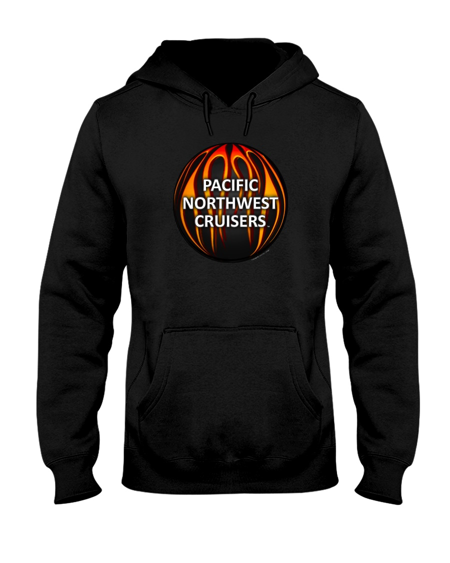 PNWC-Flaming Ball 1 Hooded Sweatshirt