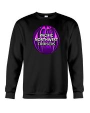 PNWC-Purple Flaming Ball 3 Crewneck Sweatshirt thumbnail