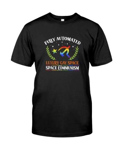 FUNNY COMMUNISM GAY MEME FULLY AUTOMATED LUXURY GA
