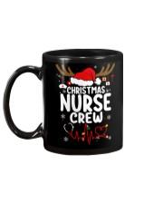Christmas Nurse Crew Mug Mug back