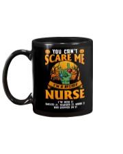 You Can't Scare Me I'm Retired Nurse Mug Mug back