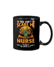 You Can't Scare Me I'm Retired Nurse Mug Mug front