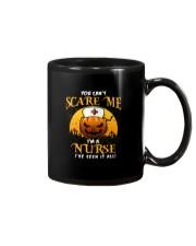 You Can't Scare Me I'm A Nurse Mug Mug front