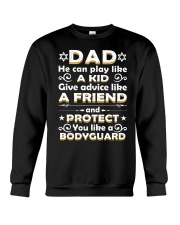 Dad He Can Play Like A Kid Give Advice Crewneck Sweatshirt thumbnail