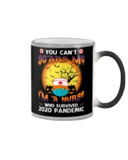You Can't Scare Me I'm A Nurse Mug Color Changing Mug color-changing-right