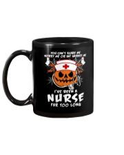 I've Been A Nurse Mug Mug back