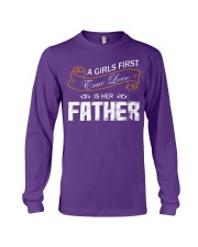 A Girl First Love Is Her Father Long Sleeve Tee thumbnail