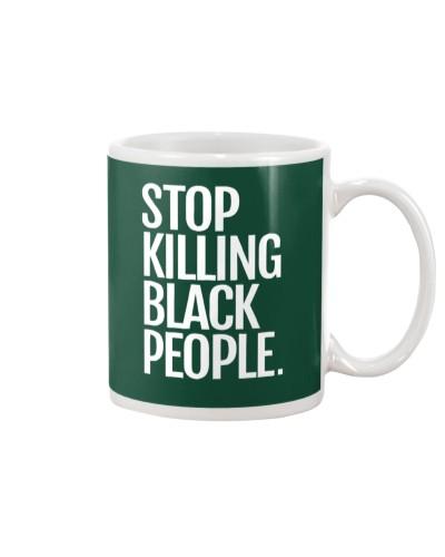 Melanin Apparel Stop Killing Black People Shirt