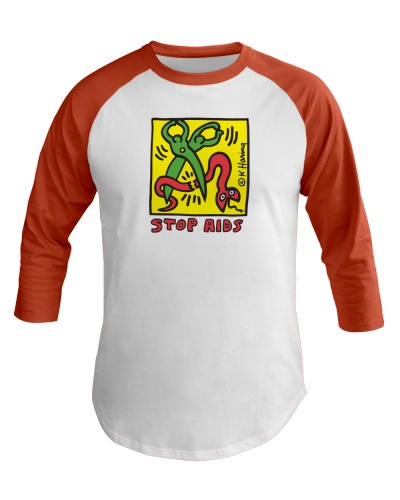 Keith Haring Pop Shop Stop Aids Face Mask