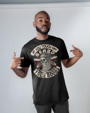 Love Beard and Skull Tshirt Classic T-Shirt apparel-classic-tshirt-lifestyle-front-32