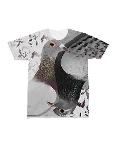 Pigeon T-shirt 3D