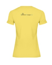 G is for Gnome Premium Fit Ladies Tee back
