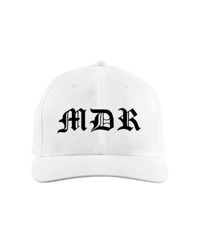 MDR White Baseball Cap