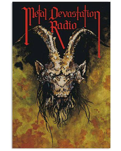 Metal Devastation Radio Original Goat Poster